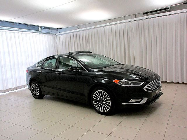 2017 FORD FUSION SE AWD ECOBOOST SEDAN w/ LEATHER INTERIOR, NAVI in Dartmouth, Nova Scotia