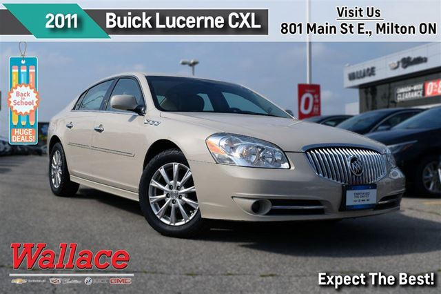 2011 BUICK LUCERNE CXL/HTD SEATS/HTD WHEEL/REMOTE STRT/PRK ASSIST in Milton, Ontario
