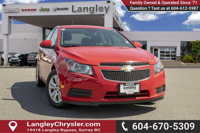 2014 CHEVROLET CRUZE 1LT in Surrey, British Columbia
