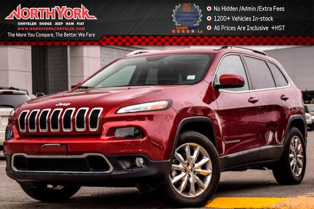 2016 JEEP CHEROKEE Limited in Thornhill, Ontario