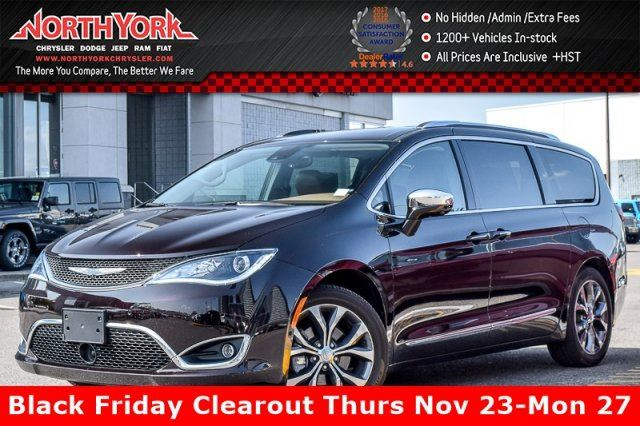 2017 CHRYSLER PACIFICA Limited Tire&Wheel,Adv.SafetyTec.,UConnectTheater&SoundPkgs in Thornhill, Ontario