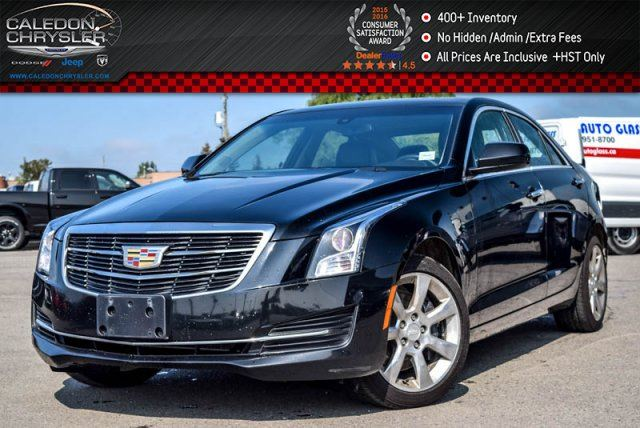 2015 CADILLAC ATS Standard AWD Sunroof Backup Cam Bluetooth Leather Heated Front Seats Keyless Go 17Alloy Rims in Bolton, Ontario