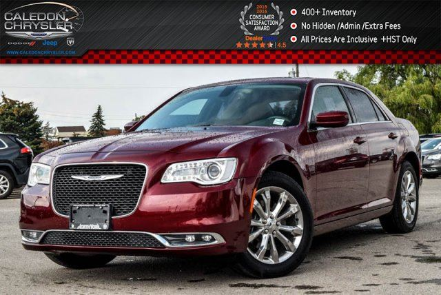 2016 CHRYSLER 300 Touring AWD Navi Pano Sunroof Backup Cam Bluetooth R-Start Leather Head Front Seats 19Alloy Rims in Bolton, Ontario