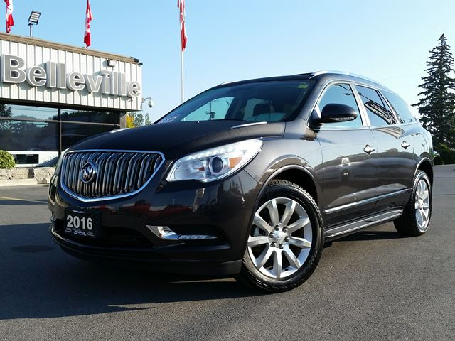 2016 BUICK ENCLAVE Premium-AWD-navigation-sunroof-leather in Belleville, Ontario