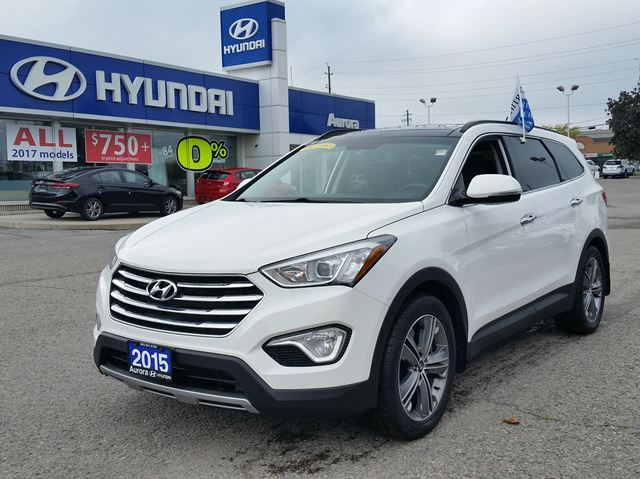 2015 Hyundai Santa Fe XL Luxury in Aurora, Ontario