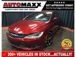 2016 Chrysler 200 S w/Leather/Pano Roof! in Calgary, Alberta