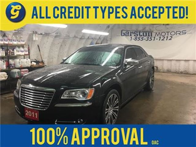 2011 CHRYSLER 300 LIMITIED*LEATHER*BACK UP CAMERA*KEYLESS w/REMOTE S in Cambridge, Ontario