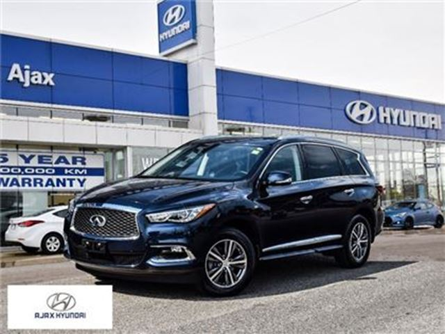 2017 INFINITI QX60 *360 Degree Camera Leather Navigation Sunroof in Ajax, Ontario
