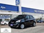 2016 Nissan Micra SV A/C Aux Bluetooth Cruise in Ajax, Ontario