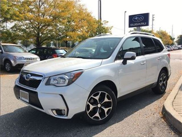 2015 SUBARU FORESTER XT Limited w/Tech Pkg in Mississauga, Ontario