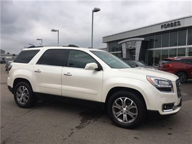 2013 GMC Acadia SLT1 \ LEATHER \ SUNROOF \ 7 PASSENGER \ AWD\ in Waterloo, Ontario