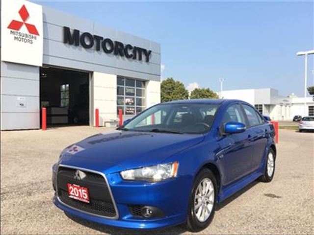 2015 MITSUBISHI Lancer - Power glass sunroof - Rear Spoiler -- in Whitby, Ontario