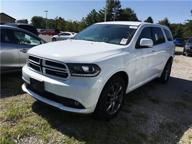 2017 DODGE DURANGO GT / LEATHER / AWD/ UCONNECT w NAVI READY in Fonthill, Ontario