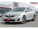 2012 Toyota Camry LE (A6) in Georgetown, Ontario