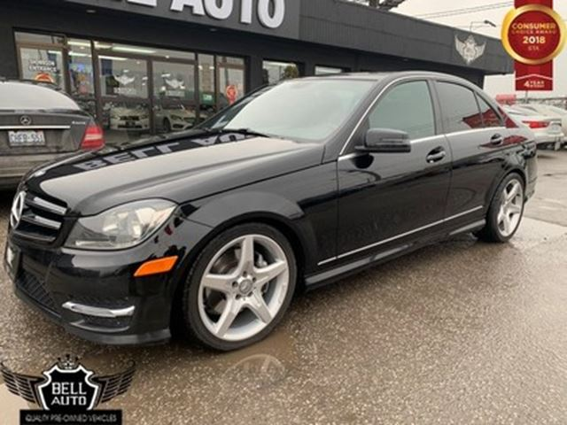 2014 MERCEDES-BENZ C-Class C300 4MATIC LEATHER SUNROOF BLINDE SPOT in Toronto, Ontario