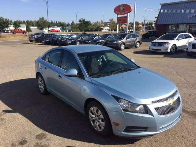 2012 CHEVROLET CRUZE LT Turbo in Red Deer, Alberta