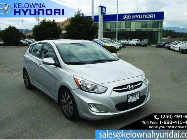 2015 HYUNDAI ACCENT SE 4dr Hatchback in Kelowna, British Columbia