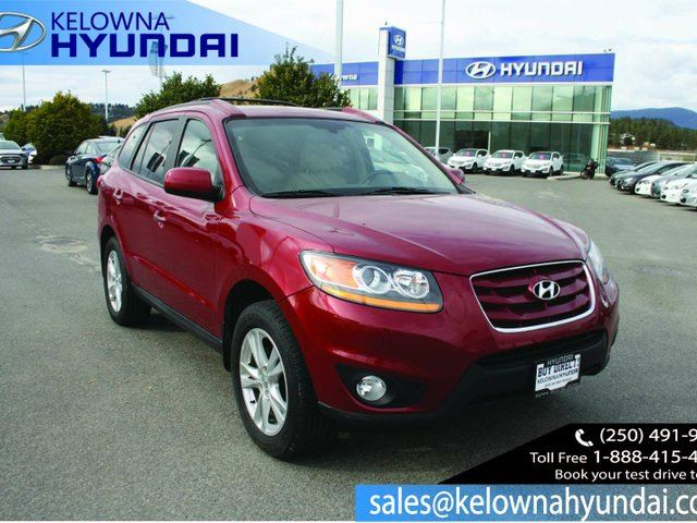 2011 HYUNDAI SANTA FE Limited 3.5 All-wheel Drive in Kelowna, British Columbia