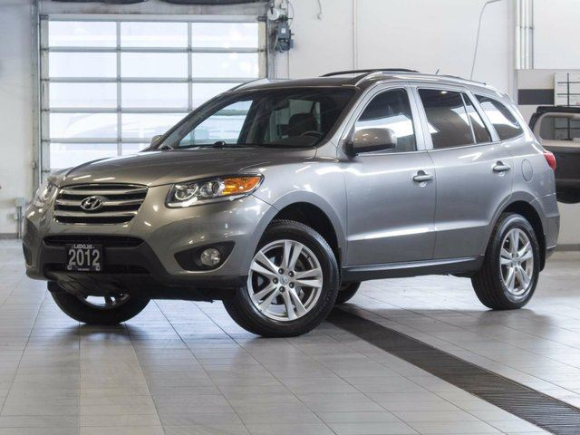 2012 HYUNDAI SANTA FE GLS w/Sunroof and Winter Tire Package in Kelowna, British Columbia