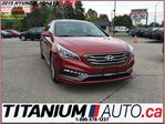 2015 Hyundai Sonata Sport+Pano Roof+Camera+Leather+Blind Spot Monitor+ in London, Ontario
