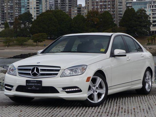 2011 MERCEDES-BENZ C-CLASS Sedan in Vancouver, British Columbia