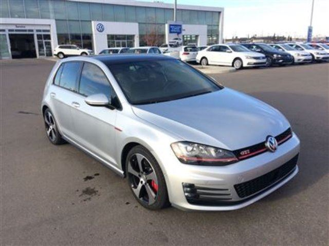 2016 VOLKSWAGEN GOLF GTI 5-Door Performance in Calgary, Alberta