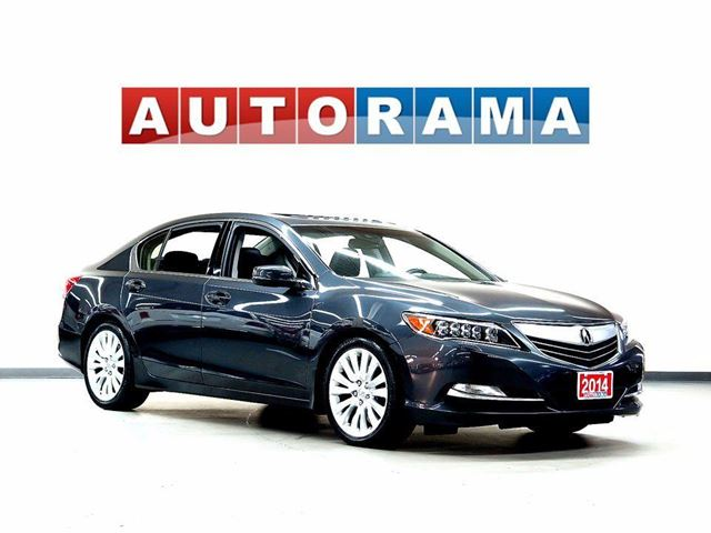 2014 ACURA RLX TECH PKG 4WD LEATHER SUNROOF BACKUP CAM in North York, Ontario