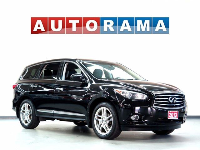 2013 INFINITI JX NAVIGATION DVD BACKUP CAM LEATHER SUNROOF 4WD in North York, Ontario