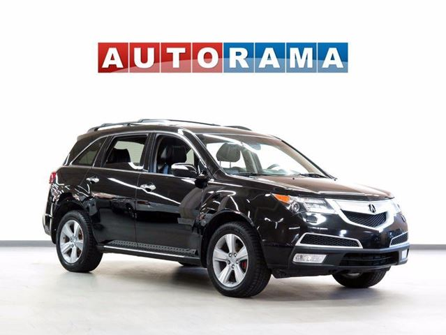 2013 ACURA MDX TEC PKG NAVI BACKUP CAM LEATHER SUNROOF 7 PASS  in North York, Ontario