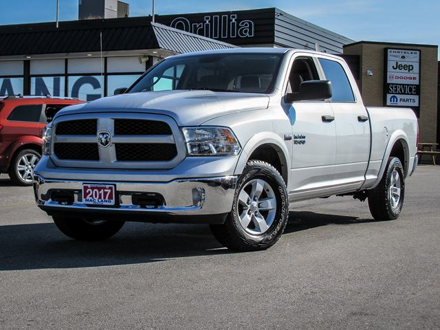 2017 Dodge RAM 1500 Outdoorsman Crew Cab in Orillia, Ontario