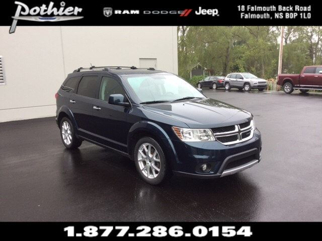 2013 Dodge Journey R/T LEATHER  HEATED SEATS  REAR PARK ASSIST  in Windsor, Nova Scotia