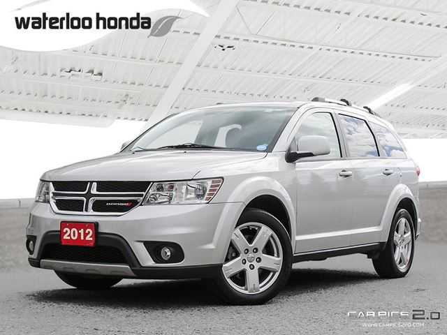 2012 Dodge Journey SXT & Crew Only 45,800 km! One Owner. Automatic, A/C and More! in Waterloo, Ontario