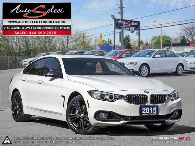 2015 BMW 4 SERIES xDrive AWD ONLY 61K! **M SPORT PKG** TECHNOLOGY PKG in Scarborough, Ontario