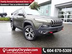 2015 Jeep Cherokee Trailhawk *ONE OWNER * LOCAL BC SUV * DEALER INSPECTED * in Surrey, British Columbia