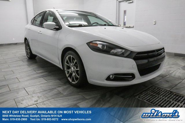 2014 DODGE DART SXT REAR CAMERA! TOUCH SCREEN! BLUETOOTH! CRUISE CONTROL! POWER PACKAGE! 17 ALLOYS! in Guelph, Ontario