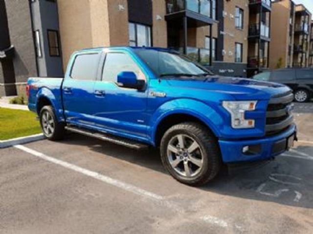 2017 ford f 150 lariat 502 fx4crewcab 4x4 mississauga ontario car for sale 2882137. Black Bedroom Furniture Sets. Home Design Ideas