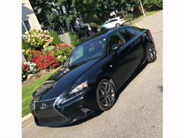 2016 LEXUS IS 300 F SPORT SERIES 2 AWD in Mississauga, Ontario