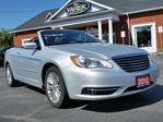2012 Chrysler 200 Touring, Convertible, NAV, Bluetooth, Heated Seats, Remote Start in Paris, Ontario