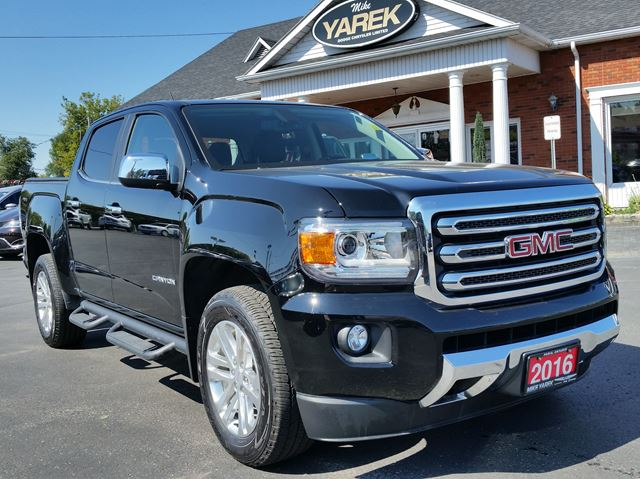 2016 GMC CANYON 4WD SLT, NAV, Heated Seats, Remote Start, Back Up Cam in Paris, Ontario