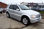 2005 Mercedes-Benz M-Class  Ml 350 Special Edition 4Matic Leather Sunroof in Brampton, Ontario
