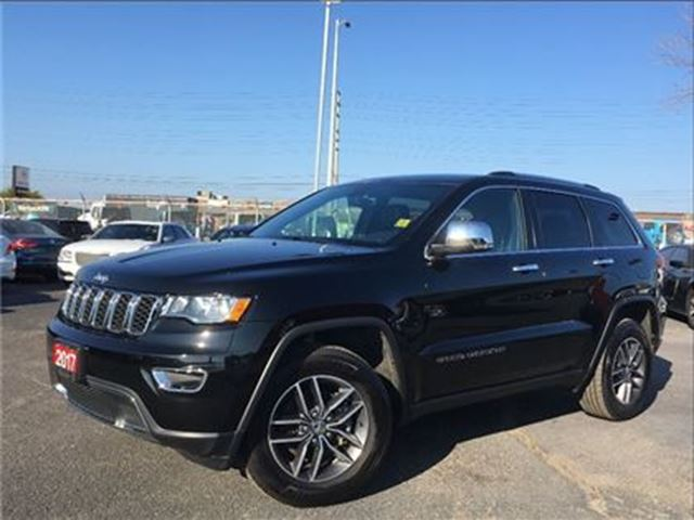 2017 JEEP GRAND CHEROKEE LIMITED**LEATHER**NAV**BACK UP CAM**BLUETOOTH** in Mississauga, Ontario