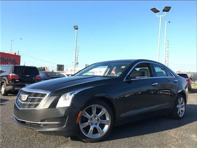 2015 CADILLAC ATS 2.0L TURBO**LUXURY**LEATHER**NAV** in Mississauga, Ontario