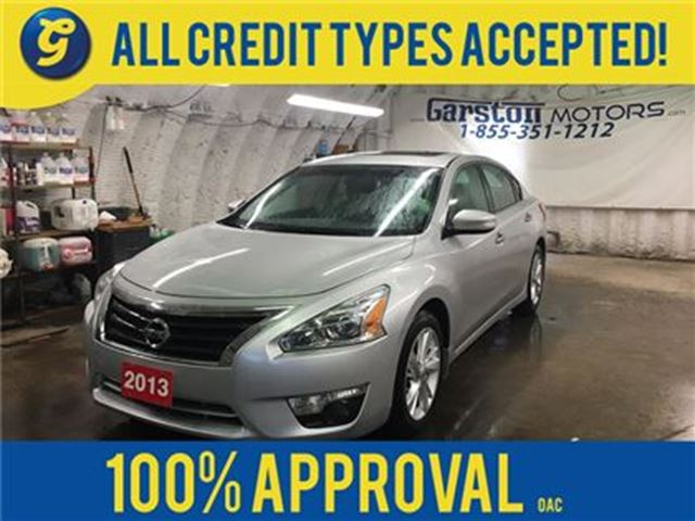2013 NISSAN ALTIMA SL**LEATHER*POWER SUNROOF*BOSE AUDIO*HEATED FRONT in Cambridge, Ontario