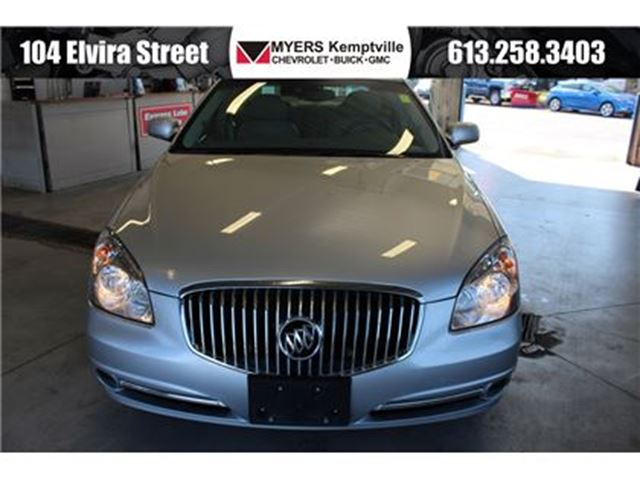2011 BUICK LUCERNE CXL Luxury Package in Kemptville, Ontario