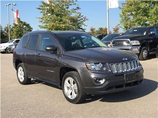 2016 JEEP COMPASS HIGH ALTITUDE 4X4**POWER SUNROOF**LEATHER** in Mississauga, Ontario