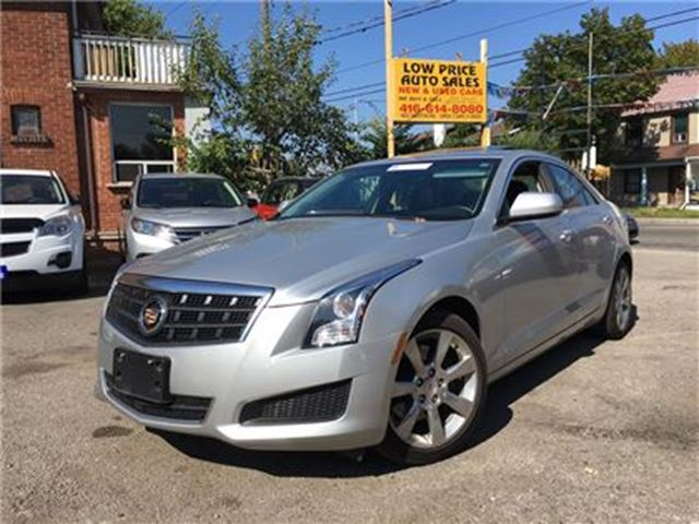 2014 CADILLAC ATS 2.0T,AllPwr,Sunroof,Leather,Alloys&Warranty* in Toronto, Ontario