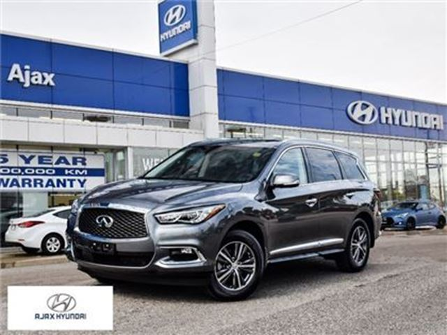 2017 INFINITI QX60 *Leather Sunroof Navi 360 Degree Camera in Ajax, Ontario