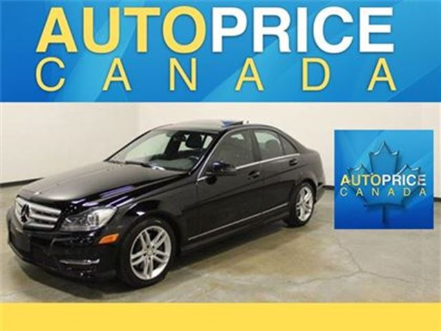 2013 MERCEDES-BENZ C-CLASS C300 4MATIC NAVIGATION in Mississauga, Ontario
