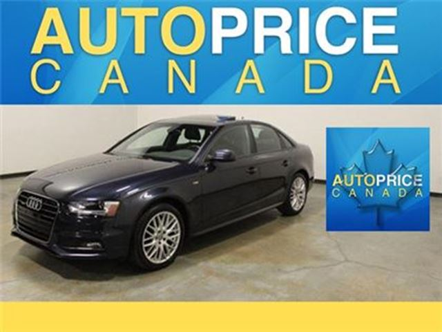 2015 AUDI A4 2.0T AWD S-LINE MOONROOF XENON in Mississauga, Ontario