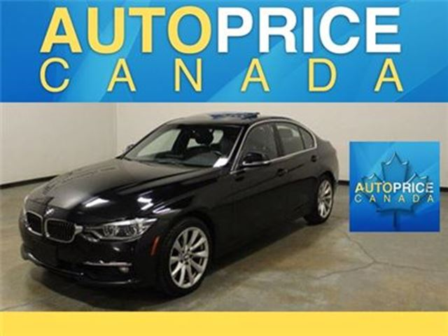 2016 BMW 3 SERIES 328 NAVIGATION XENON MOONROOF in Mississauga, Ontario